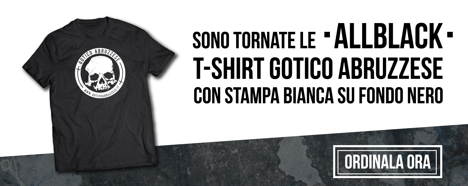 Gotico Abruzzese all black