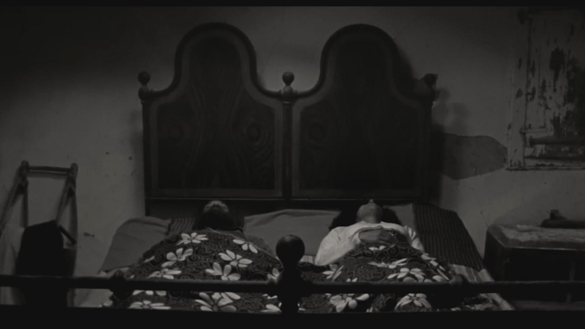Marco Casolino e Solidea Ruggiero in una scena del film