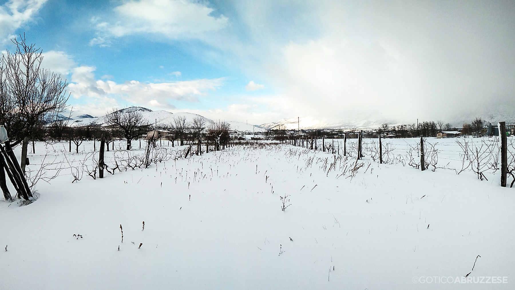 Abruzzo inverno
